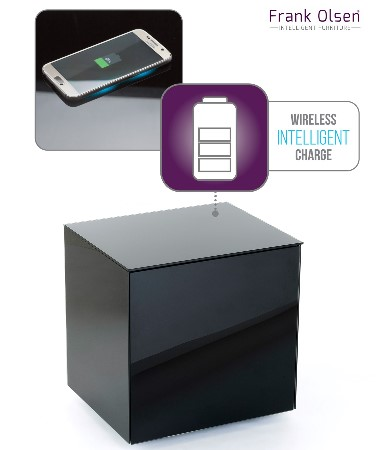 Black lamp wireless charge