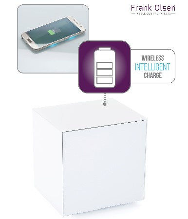 White lamp wireless charge