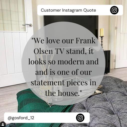 Frank Olsen Customer Review