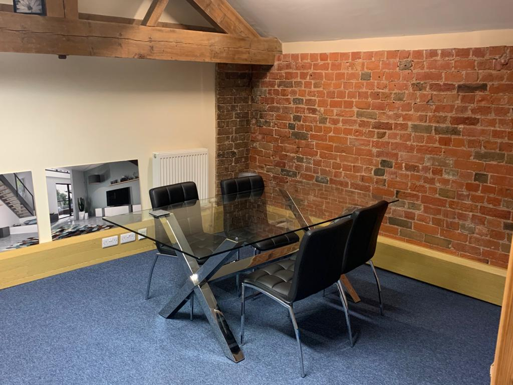 Move to larger and more creative office space