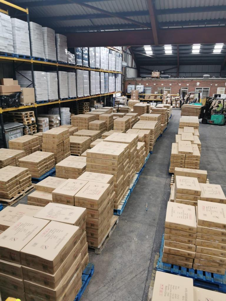The warehouse facility in a huge success