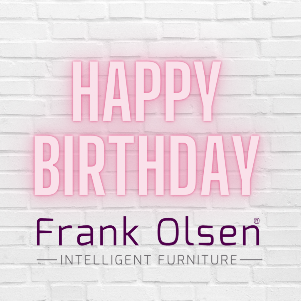 Frank Olsen is Five years old!